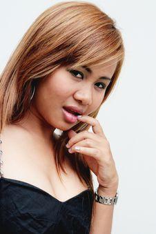 Free Asian Woman Royalty Free Stock Photos - 5484688