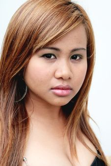Free Asian Woman Stock Image - 5484741