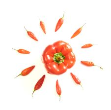 Free Red Peppers Stock Photos - 5484853