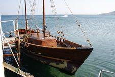Free Ship Royalty Free Stock Photography - 5485027