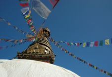 Free Swayambhunath Stupa In Kathmandu Valley Stock Photo - 5485070