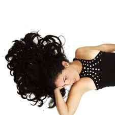 Free Brunette Beauty Stock Image - 5485601