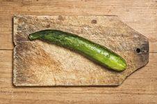 Free Cucumber Royalty Free Stock Photo - 5485635