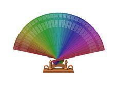 3D. Fan Stock Image
