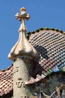 Free Casa Batllo - Barcelona Stock Image - 5486191