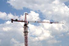 Free The Elevating Crane Stock Image - 5486691