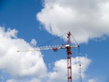 Free Elevating Crane Stock Photo - 5486910