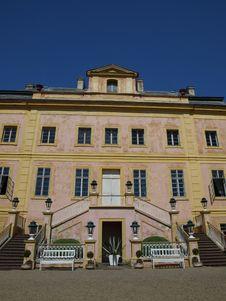Free Castle Krasny Dvur Royalty Free Stock Photo - 5486925