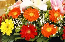 A Bunch Of Flowers. Stock Photography