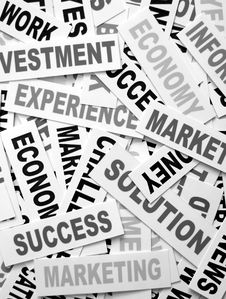 Free Business New Headlines Royalty Free Stock Photo - 5487815