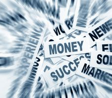 Free Business New Headlines Royalty Free Stock Image - 5488006