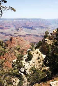 Free Scenery From Grand Canyon In Arizona Stock Photos - 5488023