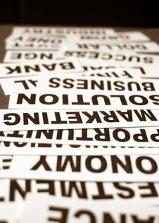 Free Business New Headlines Royalty Free Stock Images - 5488339