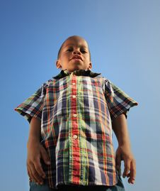 Free Tall Child Royalty Free Stock Photography - 5489297