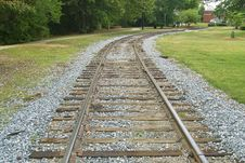 Free Railroad Tracks Stock Photo - 5489420
