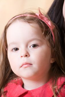 Free Portrait Of A Little Girl Stock Image - 5489431