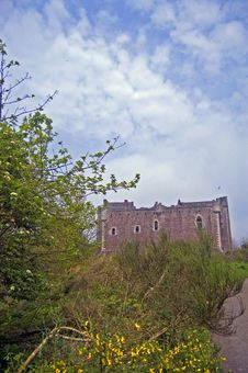 Free Scottish Castle Through The Trees Royalty Free Stock Photo - 5489595