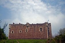 Free Remains Of The Castle Stock Images - 5489644