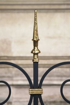 Free Fence Spike Detail, Paris, France Stock Image - 5489941