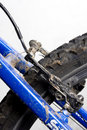 Free Brake Of  A Mountain Bike Stock Photos - 5493093