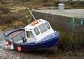 Free Boat At Low Tide Royalty Free Stock Photography - 5493867