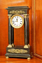Free Old Roman Clock Stock Image - 5498241