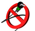 Free No Gas Pump Angle Royalty Free Stock Images - 5499689