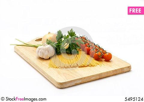 Free Pasta Ingridients Stock Images - 5495124