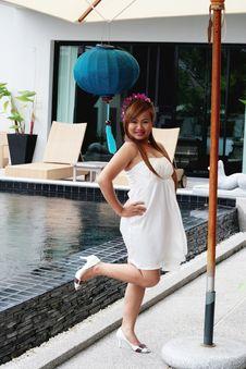 Free Asian Woman Royalty Free Stock Image - 5490176
