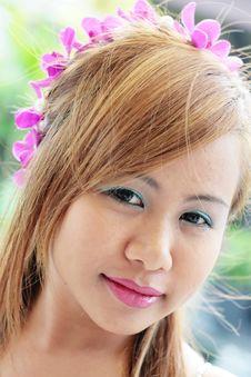 Free Asian Woman Royalty Free Stock Photos - 5490608