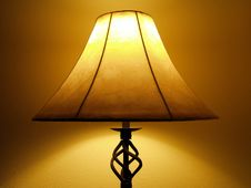 Free Spooky Lamp Royalty Free Stock Photos - 5490828