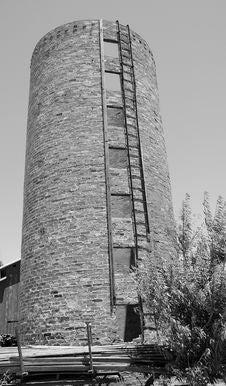 Free Vintage Grain Silo Royalty Free Stock Photos - 5490908