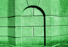 Free Green Monolith. Royalty Free Stock Images - 5491109