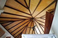 Free Roof Of Our Beach Pavilion Royalty Free Stock Image - 5491676