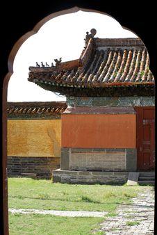 Free Amarbayasgalant Monastery Royalty Free Stock Images - 5491769