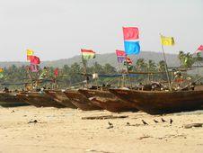Free Fishing Boats Stock Photo - 5492130