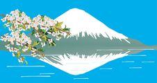 Free Mountain, Lake, And Tree Stock Image - 5492171