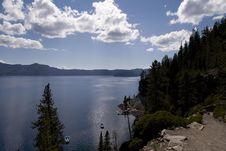 Free Crater Lake Stock Photo - 5492240