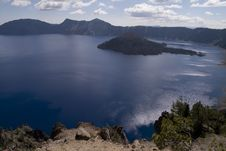 Free Crater Lake Stock Images - 5492244
