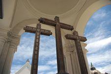 Free Moorish Cathedral, Bolivia Stock Photography - 5492272