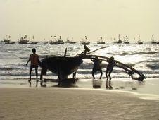 Free Fishermens Royalty Free Stock Photos - 5492588