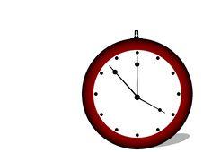 Free Wall Clock Royalty Free Stock Photo - 5492735