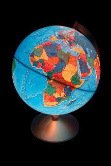 Free Terrestrial Globe Royalty Free Stock Photography - 5493027