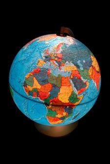 Free Terrestrial Globe Royalty Free Stock Photos - 5493048