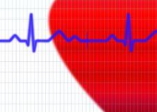 Free Cardiogram Illustration Stock Photos - 5493193
