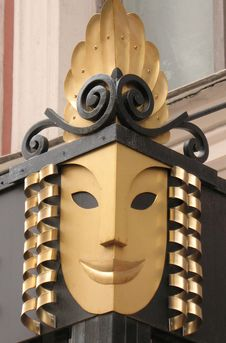 Free A Conventionalized Mask Stock Photo - 5494670