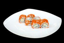 Free Nigiri Sushi Philadelphia Stock Image - 5494811