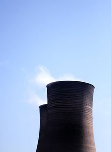 Free Condenser Cooling Towers Stock Photos - 5494923