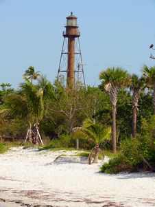 Free Sanibel Lighthouse Royalty Free Stock Images - 5494939