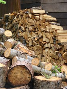 Free Logs, Wood Store Stock Photos - 5495153